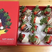 草莓和巧克力的相遇的做法图解6