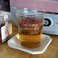 玫瑰花茶酸奶#樱花味道#的做法图解1