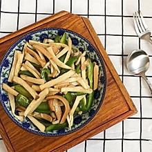 #炎夏消暑就吃「它」#火腿肠炒杏鲍菇-快手菜