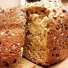 欧式全麦杂粮面包 【面包机健康自制】 「无油低脂高蛋白版」