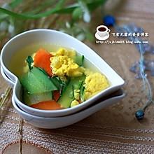 减肥美容佳品:黄瓜鸡蛋汤