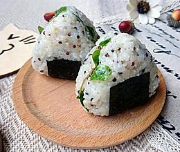 金枪鱼荞麦苗藜麦饭团-蜜桃爱营养师私厨-健身减肥野餐便当的做法