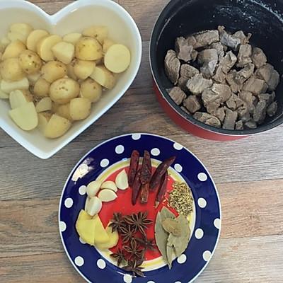 【留学生版】川味红烧牛肉的做法 步骤2