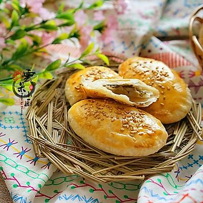 层层酥脆,口口香——香葱牛舌饼