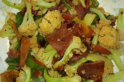 干锅有机菜花