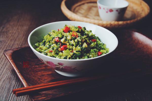 薄腌芥菜的做法