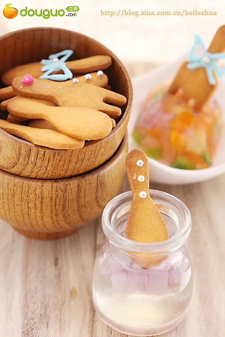 仿真餐具小饼干的做法