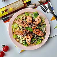 """三文鱼藜麦沙拉#在""""家""""打造ins风美食#的做法图解12"""
