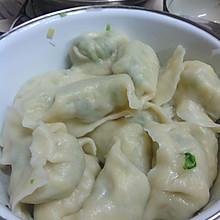 菠菜鸡蛋粉丝水饺