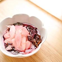 #爽口凉菜,开胃一夏!#紫苏腌酸子姜
