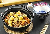 茶树菇烧鹌鹑蛋的做法