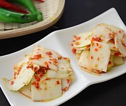 夏日爽口小菜-脆皮剁椒萝卜皮的做法