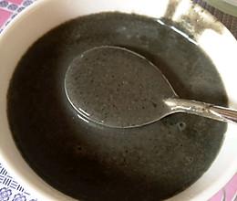 豆浆机版芝麻糊的做法