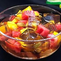 水果红糖冰粉的做法图解11