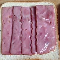 快手早餐三明治的做法图解3