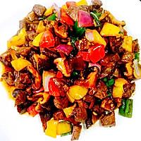 黑椒牛肉粒的做法图解9