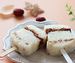 #美食视频挑战赛# 红枣糯米凉糕的做法