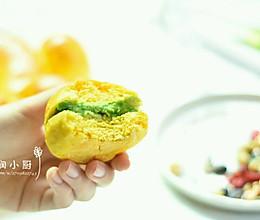 小朋友指定要吃的南瓜小餐包的做法