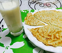 蒲瓜丝(葫芦、瓠子)饼的做法