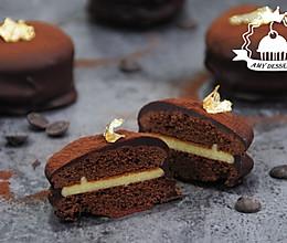 拉丝巧克力蛋糕的做法