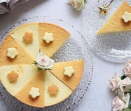 8寸戚风蛋糕,裸蛋糕也要装饰美美的的做法
