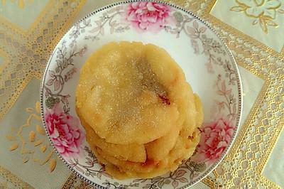 红糖红薯红枣糯米饼