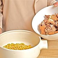 迷迭香美食| 黄豆炖猪蹄的做法图解4