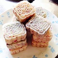 玫瑰冰皮月饼的做法图解14