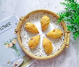 鼠年快到了,可爱的金鼠月饼的做法