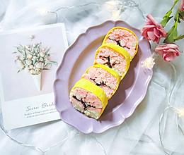 #春季减肥,边吃边瘦#樱花树寿司的做法