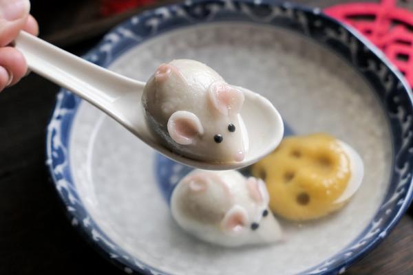 小老鼠与奶酪卡通汤圆的做法
