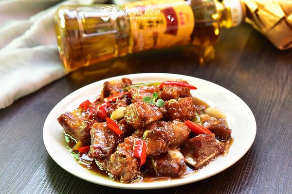 生炒排骨#金龙鱼外婆乡小榨菜籽油 最强家乡菜#的做法