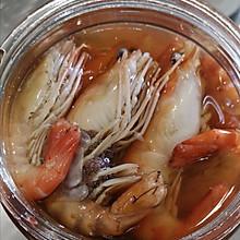 #晒出你的团圆大餐#让人一见倾心的上海熟醉虾