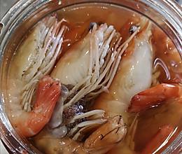 #晒出你的团圆大餐#让人一见倾心的上海熟醉虾的做法