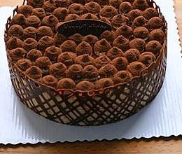 巧克力巴伐利亚奶冻的做法
