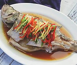 给厨房小白建立信心的清蒸鲈鱼!的做法