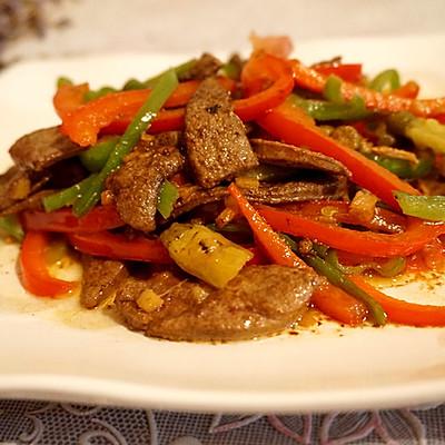 超级下饭菜来袭--野山椒炒猪肝