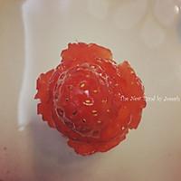 草莓玫瑰的做法图解8