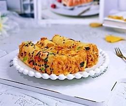 #憋在家里吃什么#肉松吐司卷的做法