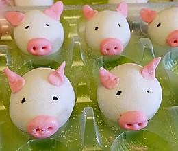 李孃孃爱厨房之一一小猪黑芝麻汤圆的做法