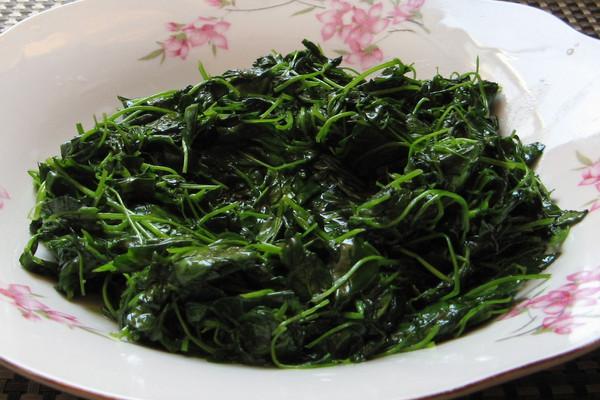 上海年夜饭必备五粮液酒香草头的做法