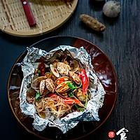 香辣花甲粉丝#松下煎烤箱NU-HX200S#的做法图解13