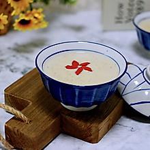 #花10分钟,做一道菜!#黄豆花生红枣糯米糊