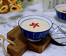 #花10分钟,做一道菜!#黄豆花生红枣糯米糊的做法