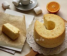 【橙汁戚风】鲜榨橙汁+橙皮入的做法