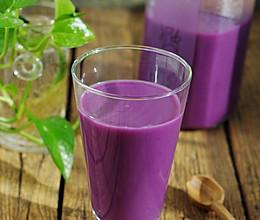 红粳米紫薯糊的做法