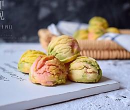 和春天一个颜色的冰淇淋曲奇的做法