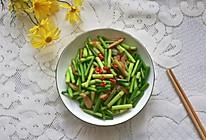 #精品菜谱挑战赛#蒜苔炒腊肉的做法
