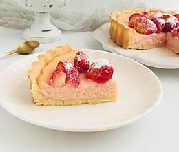 草莓芝士派的做法
