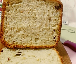 Duang~面包机版【松软甜面包】(新良高粉制作)的做法